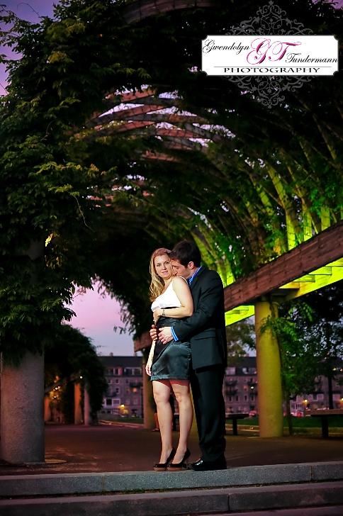 Downtown Boston engagement photos at Long Wharf