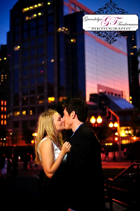 Downtown Boston engagement photos at Long Wharf