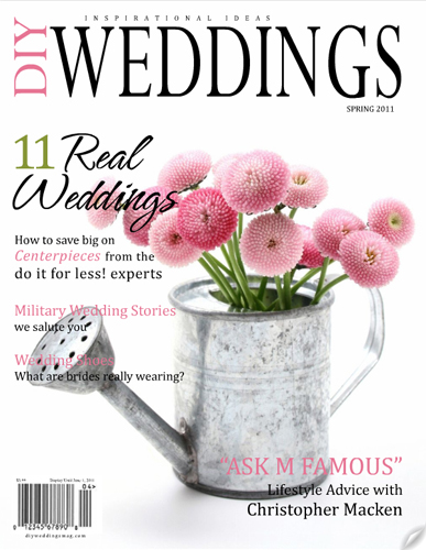 DIY Weddings Magazine Spring 2011