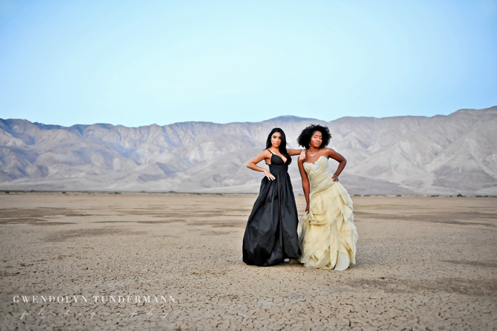 Anza Borrego bridal photos