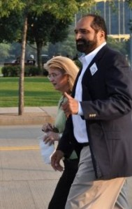 As we were tailgating, Franco Harris walked by! Just walking down the street like a normal guy past hundreds of Steeler fans. I couldn't believe it!