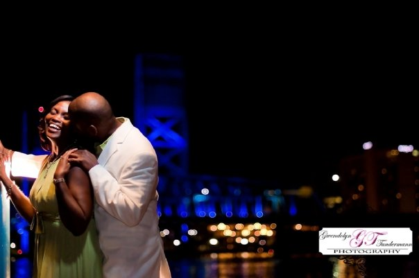 Toni & Cedric's Downtown Jacksonville Engagement Photos
