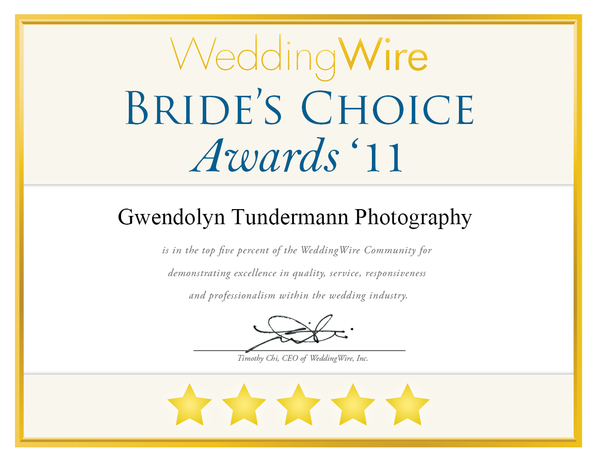 Bride's Choice Awards 2011 | Jacksonville Wedding Photographers