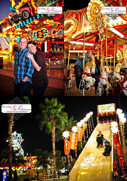 jacksonville fair engagement photos