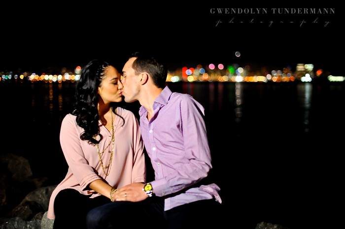 Downtown San Diego Engagement Photos
