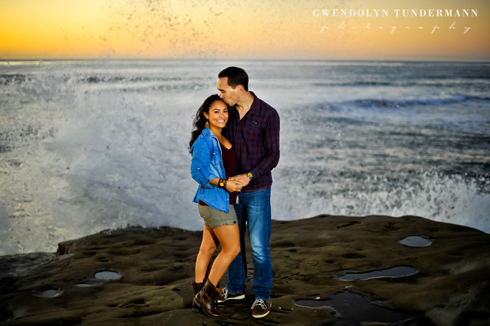 Sunset Cliffs Engagement Photos