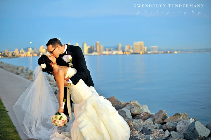Sheraton San Diego Wedding Photos Harbor Island