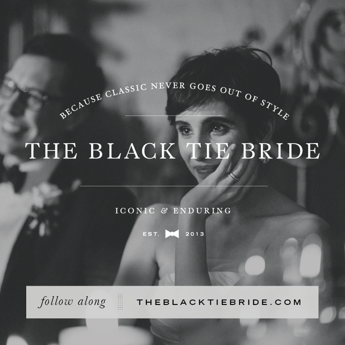 The Black Tie Bride