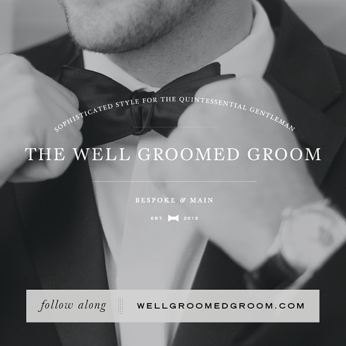 The Well Groomed Groom