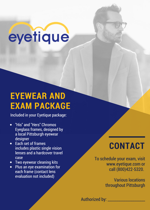 Eyetique certificate