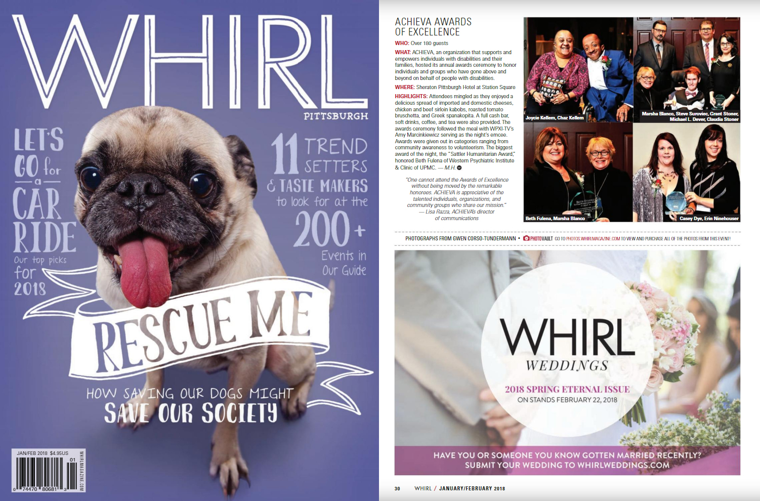 Whirl Jan Feb 18 cover and feature