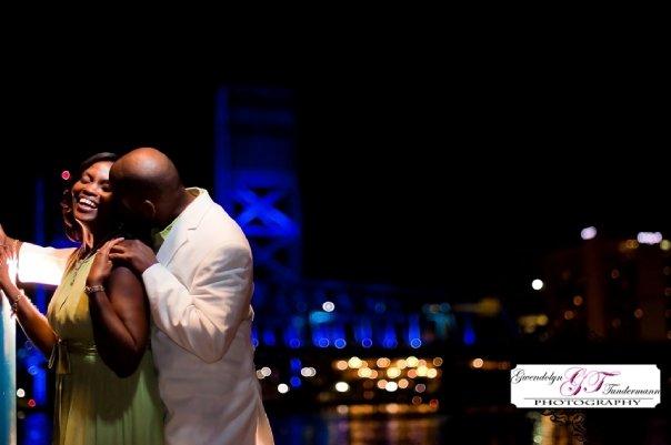 Toni & Cedric's Downtown Jacksonville Engagement Photos